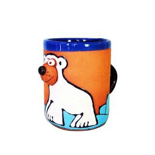 Clay cups - Eisbear