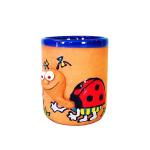 Clay cups - ladybird