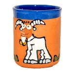 Clay cups - goat
