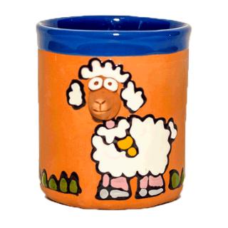 Coupes en terre cuite - mouton