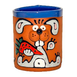 Clay cups - bunny