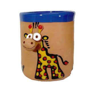 Ton Tassen - Giraffe rot