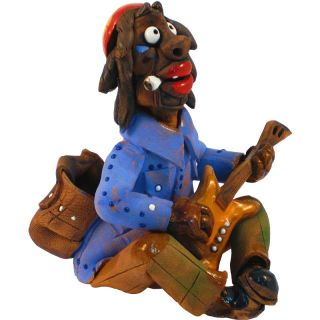 Incense Burners - musician with guitar