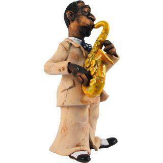 Räucherfigur - Saxophon Musiker