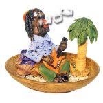 Figurine dencens - Set Rastaman