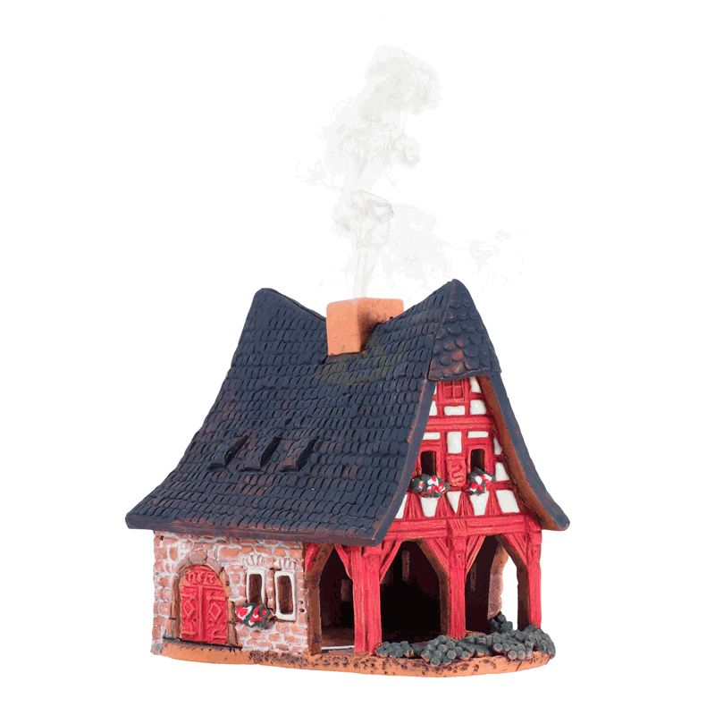 Incense Burner Smoking House Old Smithy In Rothenburg