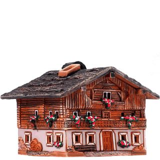 Maison dans les Alpes tyroliennes