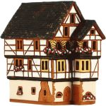 House from cover in Kaysersberg Alsace