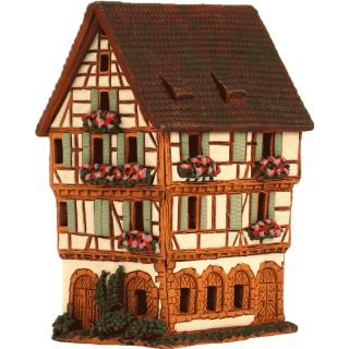 Half-timbered house in Colmar, Alcaes