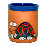 Clay cups - turtle