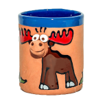 Clay cups - moose