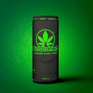 Boisson énergétique SoStoned (330 ml)