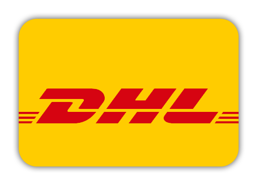 We ship with DHL