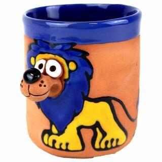 Löwe blau